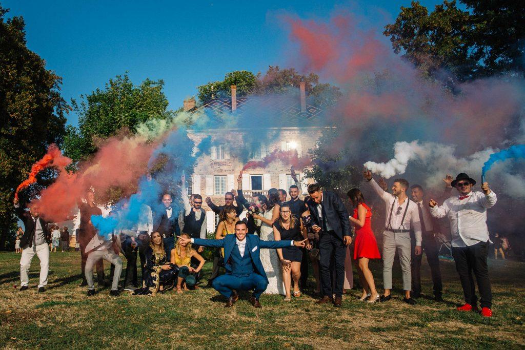funky wedding