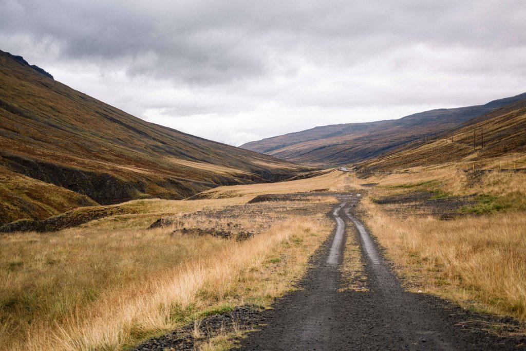 sur les routes d'islande