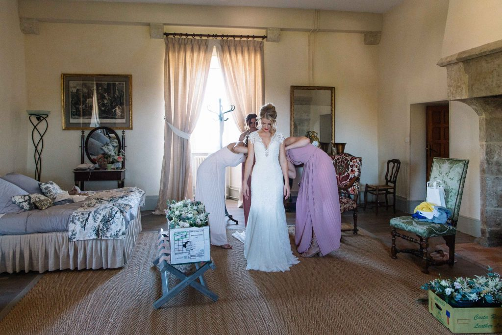 mariage château de Beauvoir