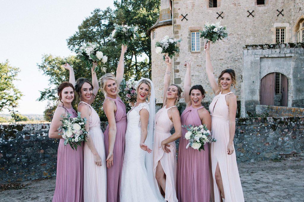 photographe de mariage chateau de beauvoir