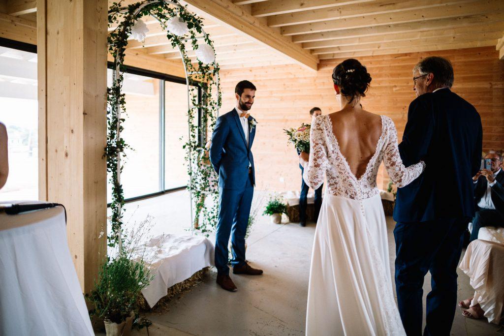 mariage à la ferme