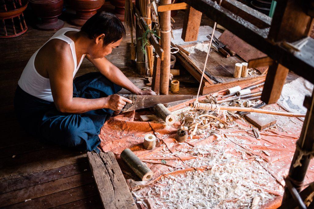 artisanat birmanie