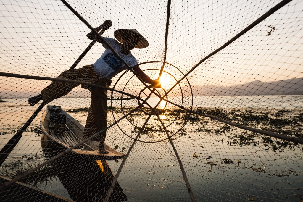 fisherman inle lake