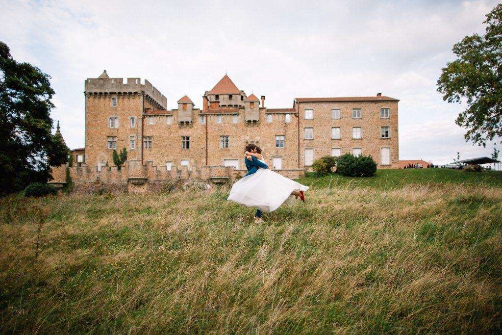 mariage au château de Pluvy
