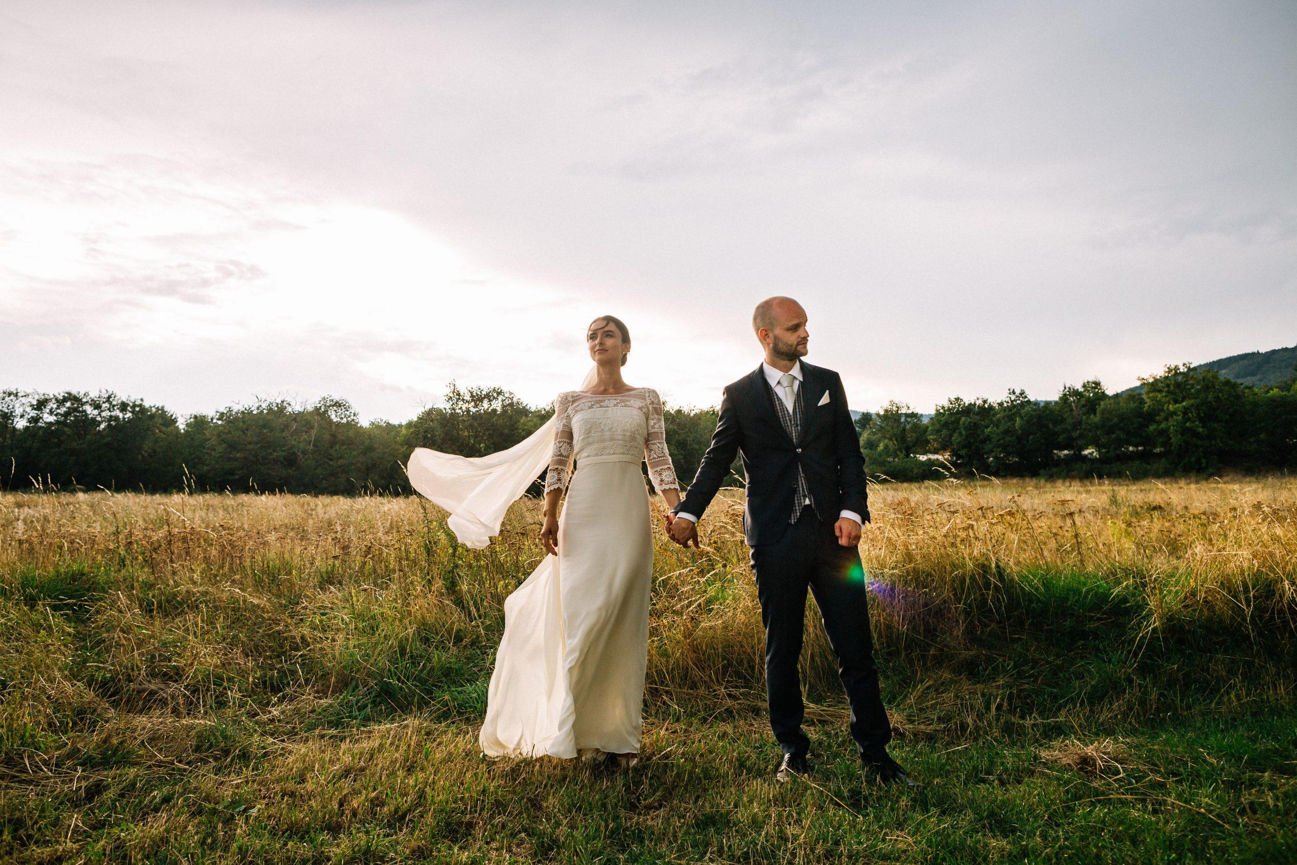 mariage au domaine des camiers