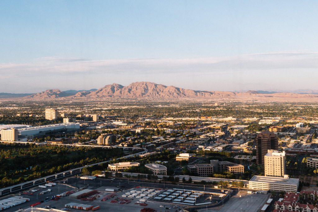 Las Vegas carnet de voyage