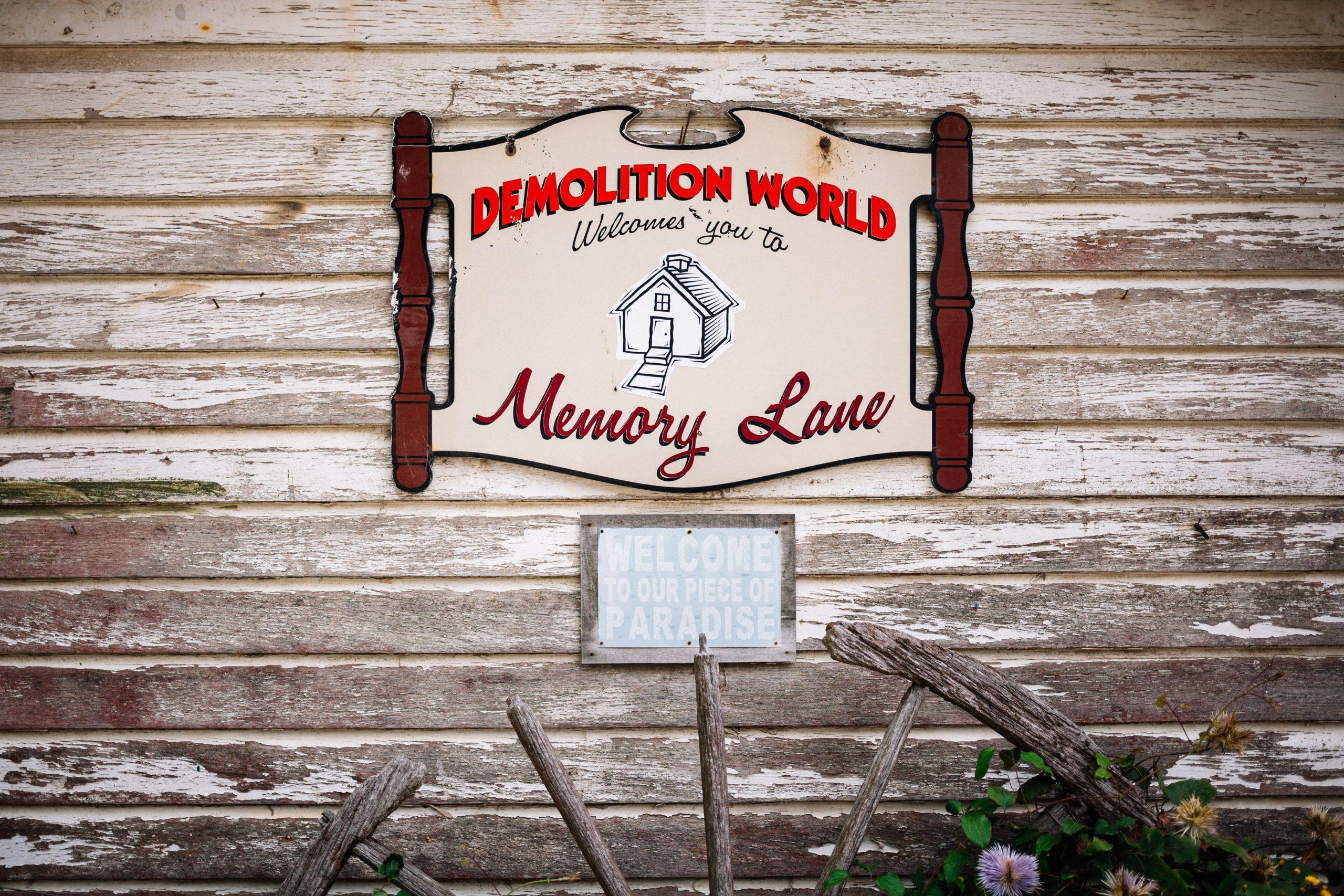 demolition world