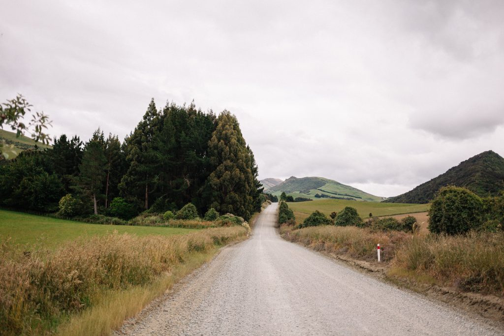 gravel road new zealand
