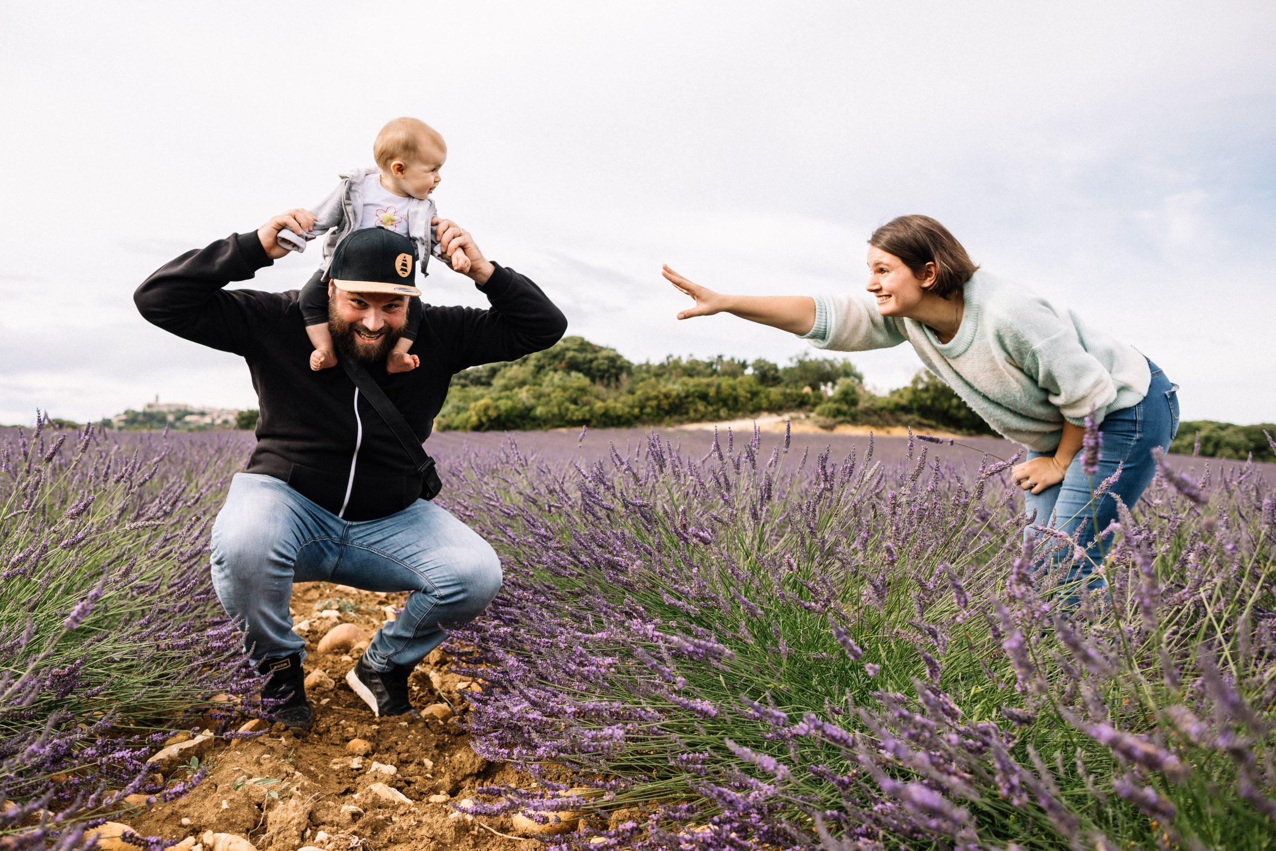 séance famille en Drôme provençale