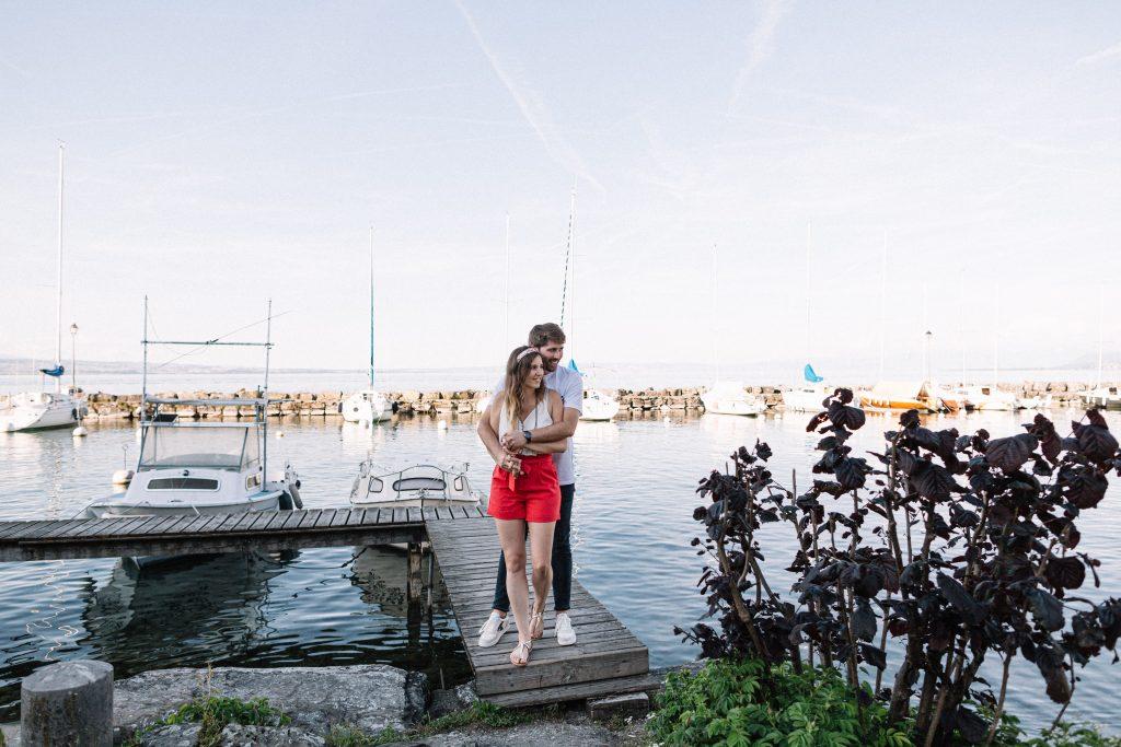 photographe couple yvoire