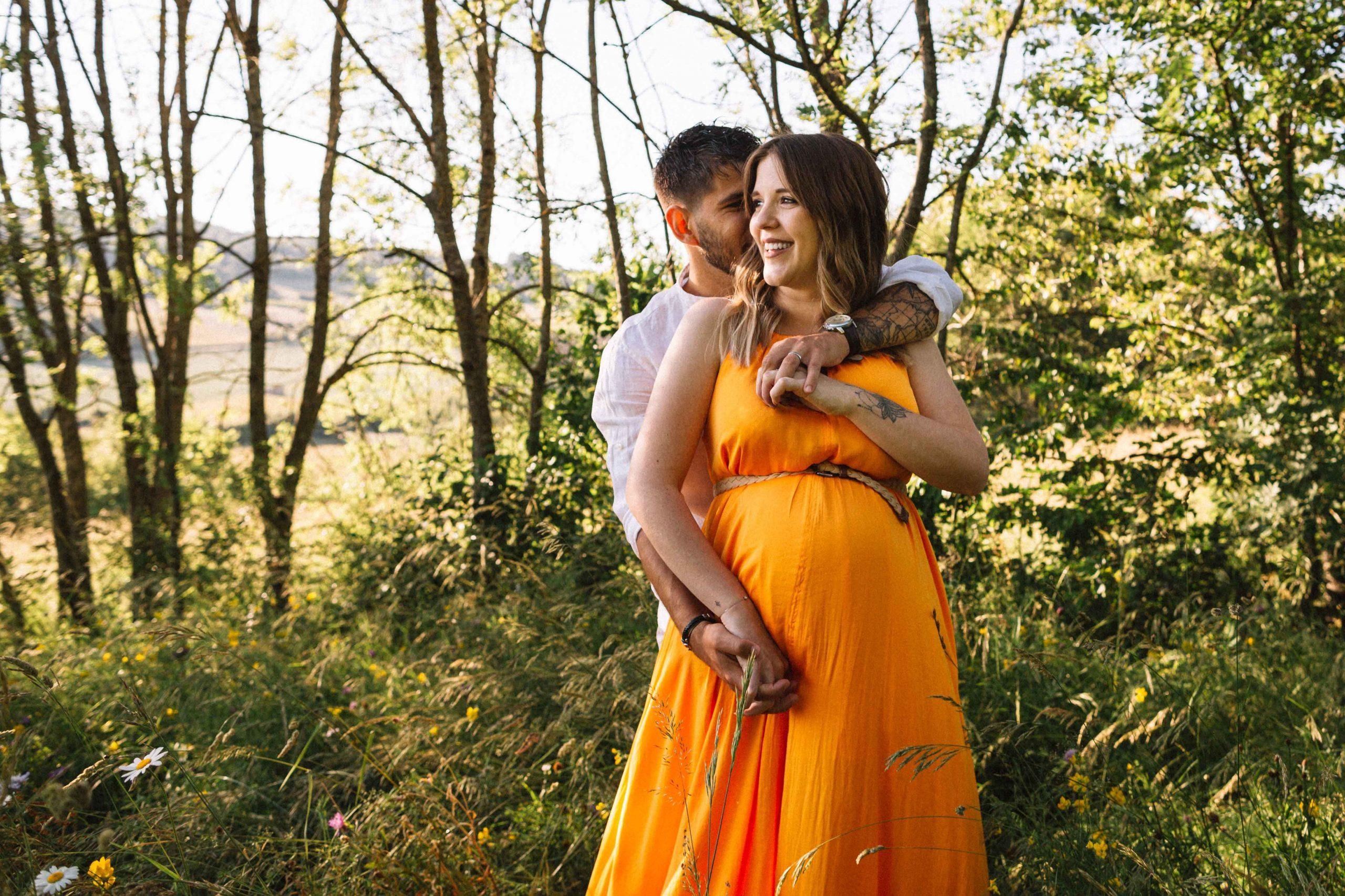 seance grossesse dans les monts du lyonnais